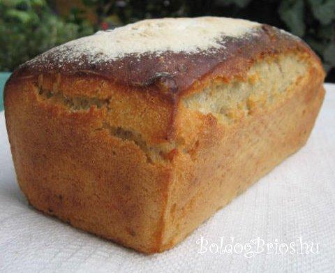 Burgonyás kenyér recept