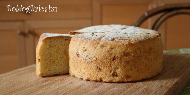 Kukoricás kenyértorta