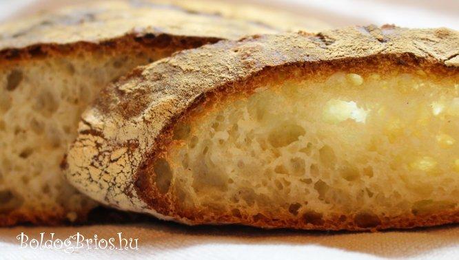 Csicsókás kenyér recept