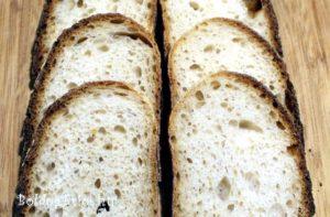 Gömöri burgonyás kenyér bélzete