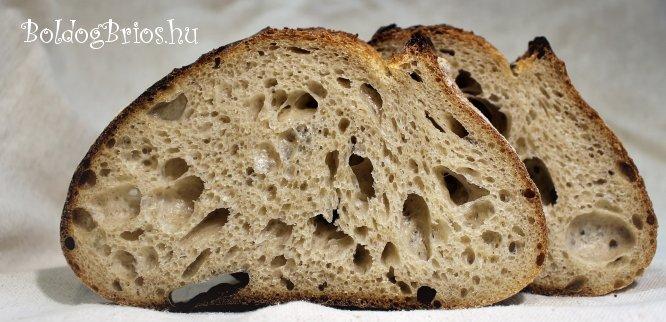 Belülnézetben a Tartine kenyér