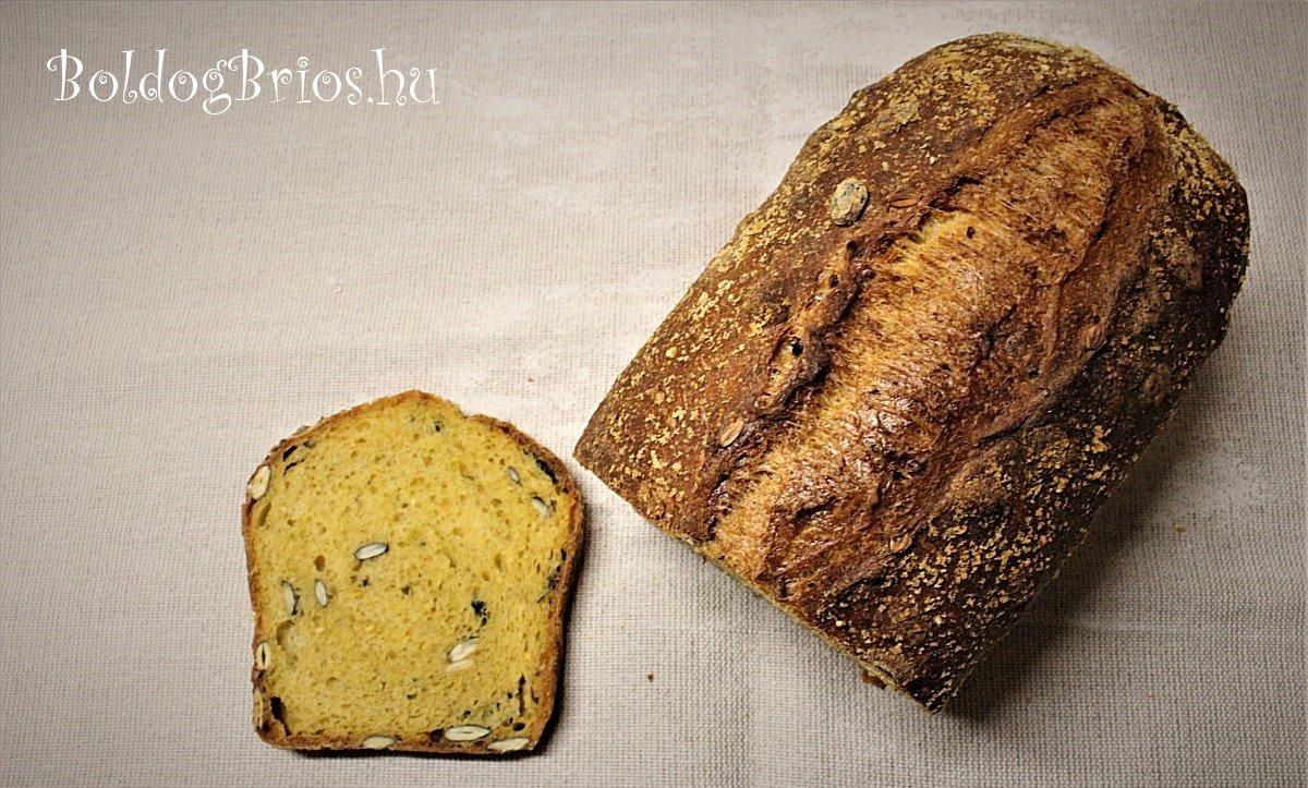 Tökös narancsos kenyér